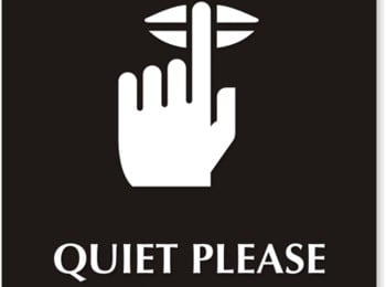 quiet please 2012