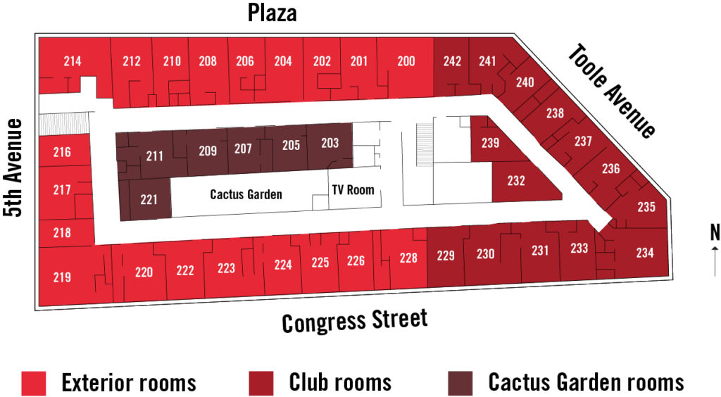 Hotel Congress floorplan