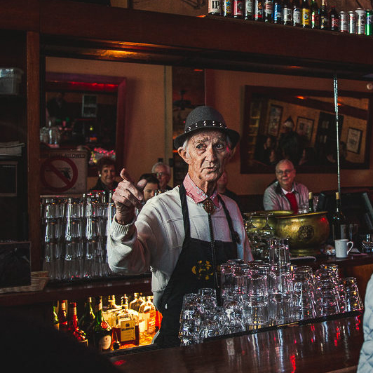 "Tucson Foodie Pouring at Hotel Congress Since the '50s: ""Tiger"" of Tiger's Tap Room"