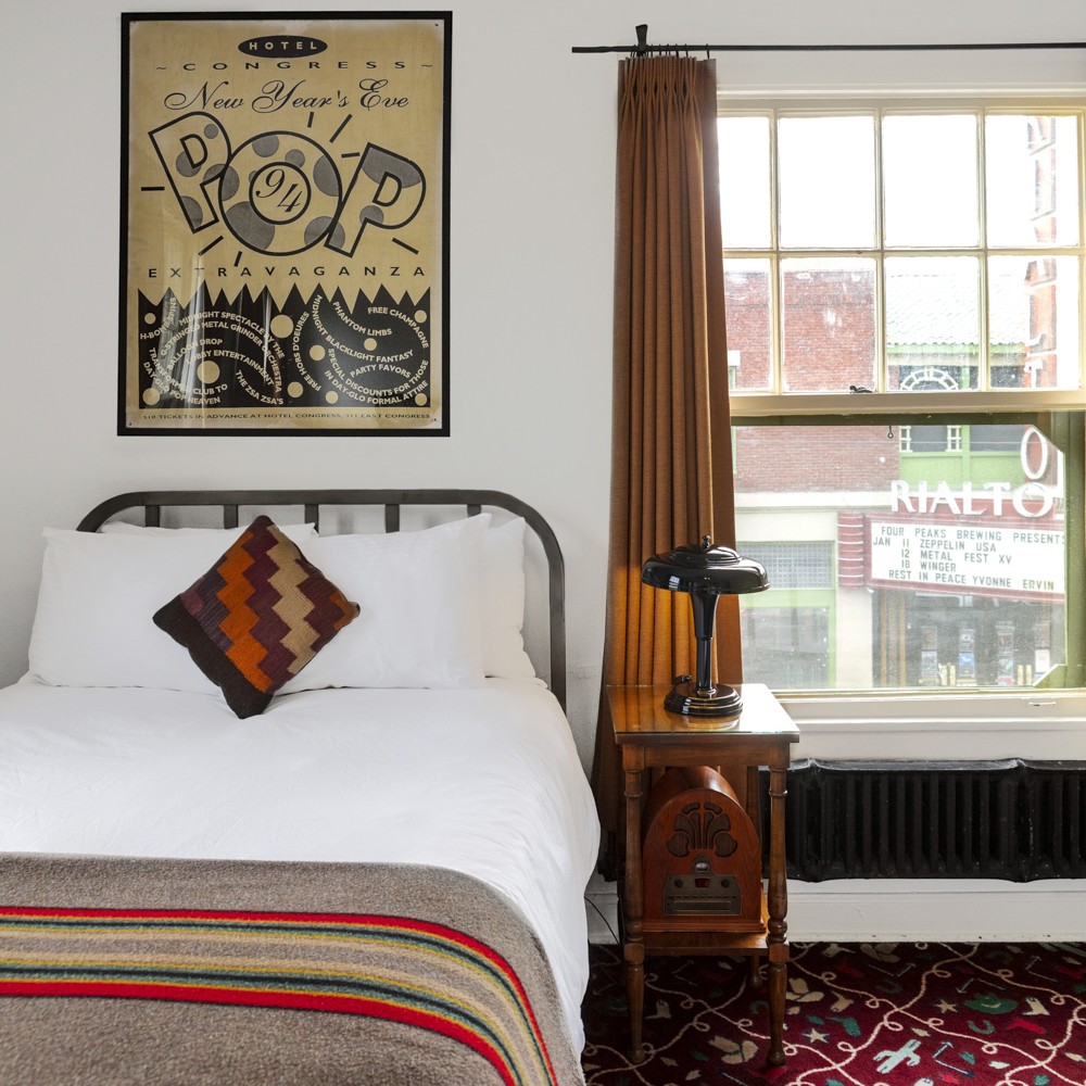Hotel Congress in the heart of downtown Tucson