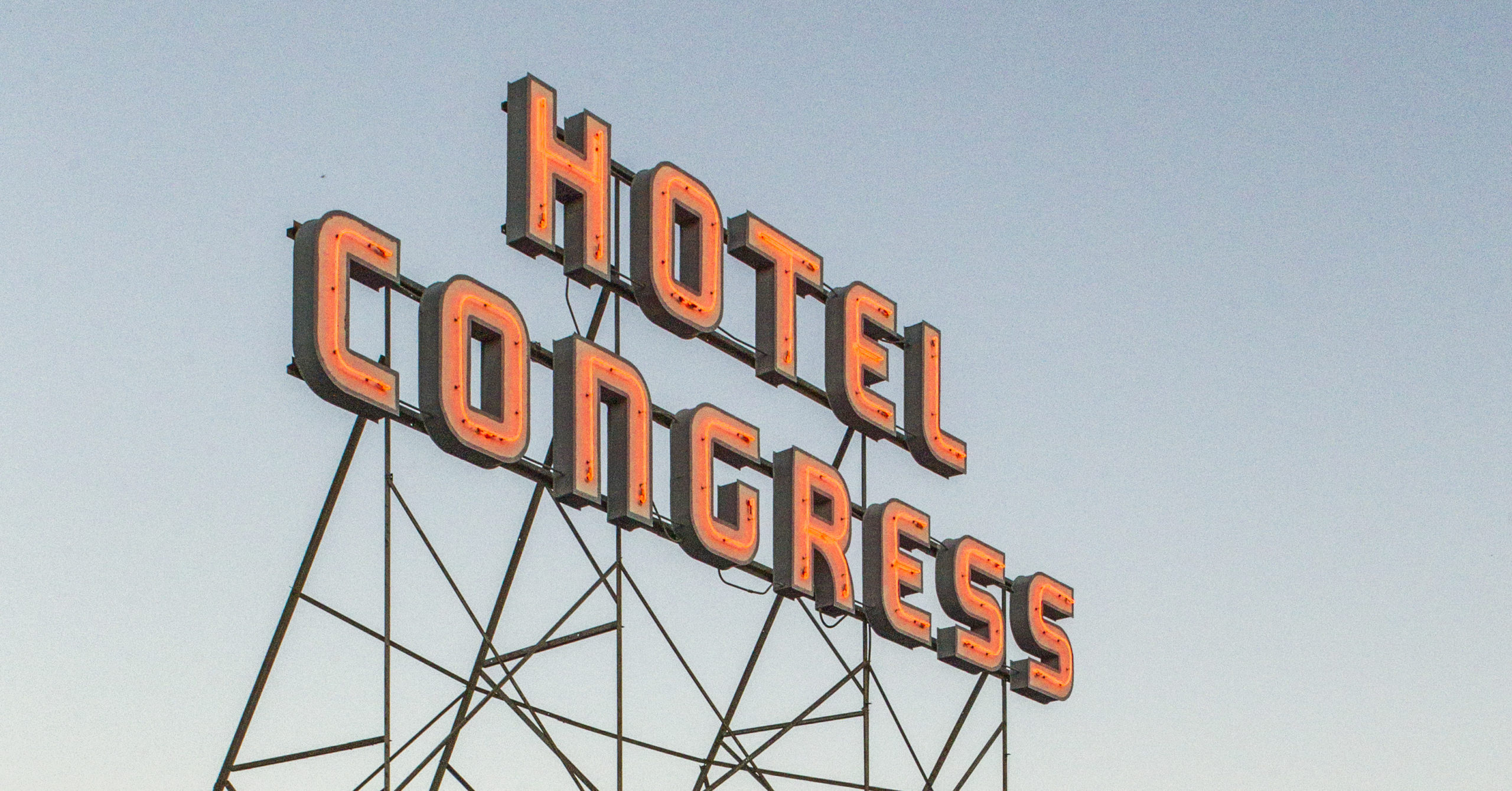 Hotel Congress sign